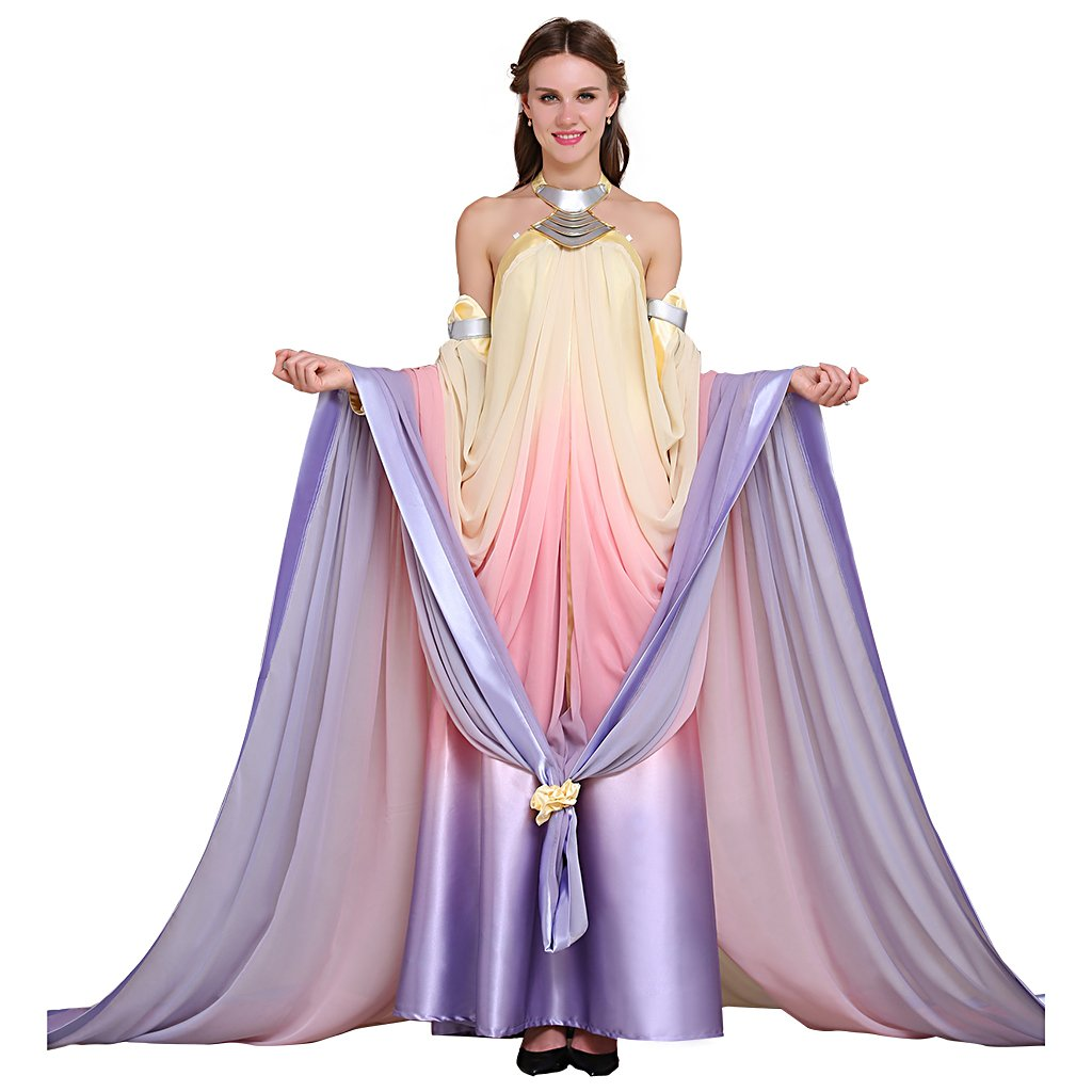 CosplayDiy Star Wars Revenge of the Sith Padme Amidala Lake Dress Women Party Dress