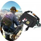 CosplayDiy Men's Bag Watch Dogs 2 Marcus Holloway Cosplay Black Single-Shoulder Bag
