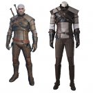 CosplayDiy The Witcher 3 Wild Hunt Geralt of Rivia Cosplay Men's Costume For Hallowen