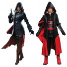 Assassin's Creed Syndicate Evie Frye Costume Adult Women Halloween Carnival Cosplay