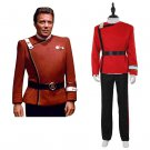 CosplayDiy Men's Costume Star Trek Wrath of Khan Starleet Unifrom Cosplay Costume for Party