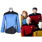 CosplayDiy Men's Jacket Star Trek:The Next Generation Costume Cosplay for Halloween Carnival