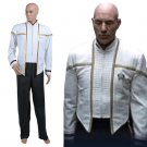 CosplayDiy Men's Outfit Star Trek Insurrection Nemesis Mess White Costume Cosplay for Halloween