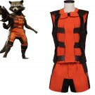 CosplayDiy Men's Costume Guardians of the Galaxy Rocket Raccoon Outfit Costume Cosplay for Halloween