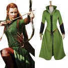 CosplayDiy Women's Outfit The Hobbit Desolation of Smaug Taureil Costume Cosplay for Halloween