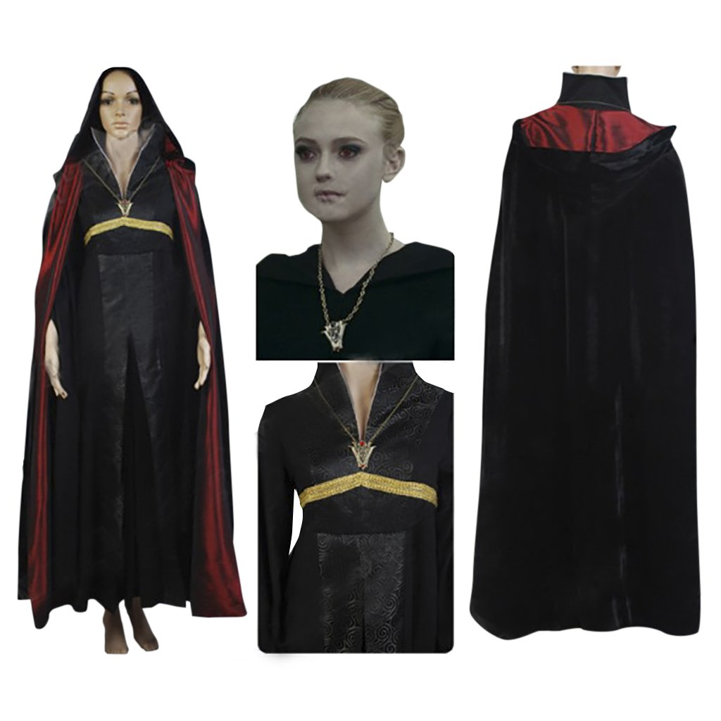 CosplayDiy Women's Outfit Breaking Dawn Twilight Jane's Volturi Outfit Cape Costume Cosplay