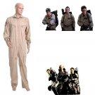 CosplayDiy Men's Uniform Ghostbusters Team Jumpsuit Uniform Costume Cosplay for Halloween