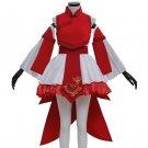 CosplayDiy Women's Red&White Dress Fancy Lolita Dress Anime Costume Dress Cosplay Costume