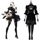 YoRHa No.2 Type B Women's Dress Costume Cosplay NieR:Automata 2B Adult's Black Dress Cosplay