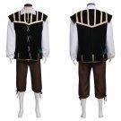 Custom Made Men's Medieval Costume Cosplay Vintage Medieval Adult's Shirt Vest Pants Cosplay