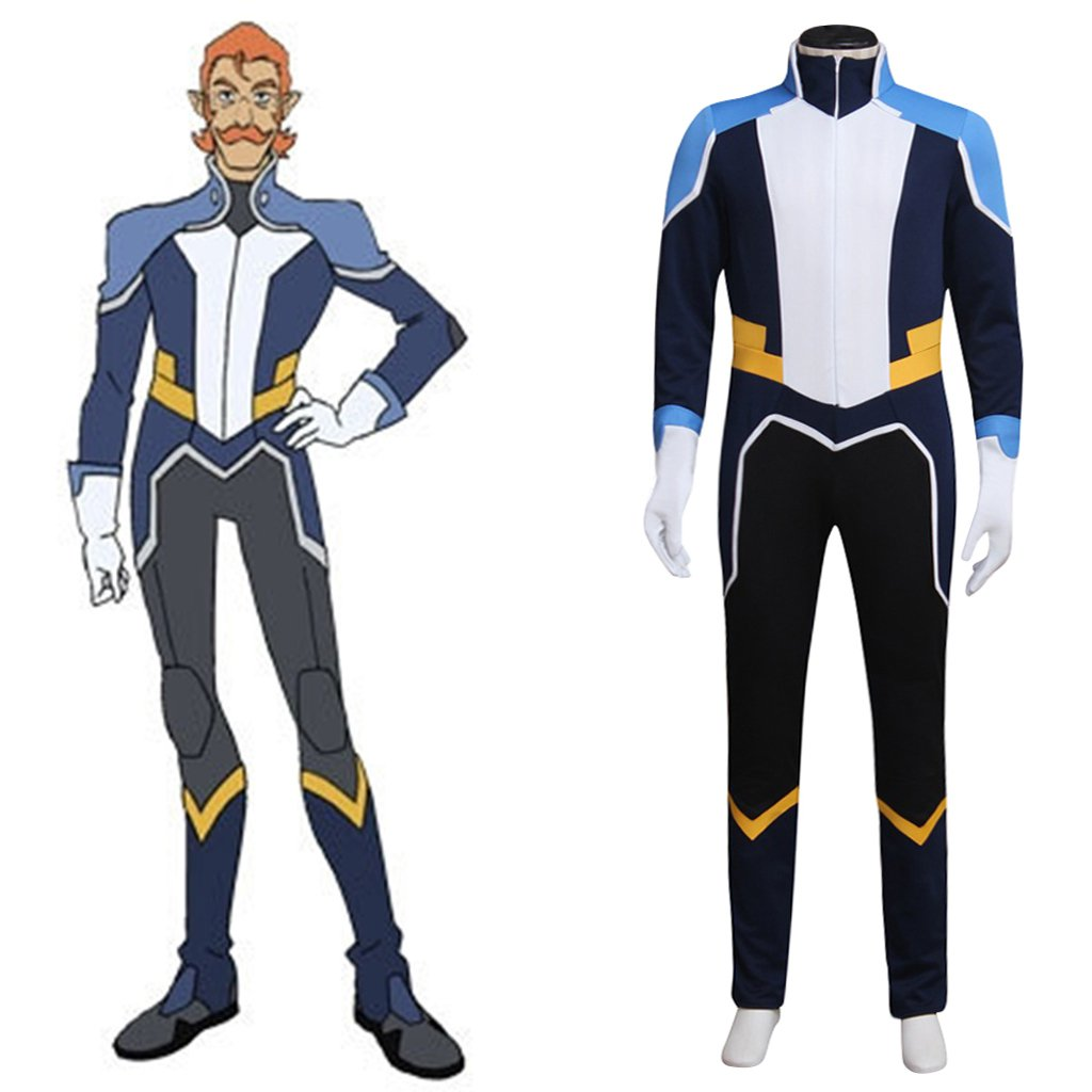 Coran Costume Cosplay Voltron:Legendary Defender Adult's Uniform Jumpsuit Cosplay for Party