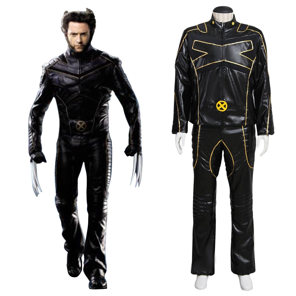 Wolverine Outfit Cosplay X-Men James Logan Custom Made Leather Costume Cosplay for Halloween