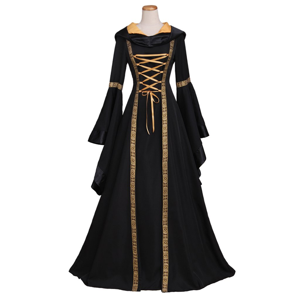 Adult's Dress Custom Made Women's Vintage Dress Medieval Victorian Dress Costume Cosplay for Party