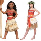 Kid's Dress New Arrival Princess Moana Dress Cosplay Girl's Spring Dress Costume Cosplay