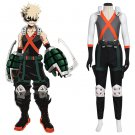 My Hero Academia Bakugou Katsuki Custom Made Adult's Costume Outfit Cosplay for  Party