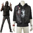 Watch Dogs 2 Wrench Custom Made Vest Hood Costume Cosplay for Party