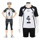 Adult's Leisure Sports Shirt Costume Anime Haikyuu Custom Made Costume for Sports(2 color)