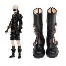 NieR:Automata YoRHa No.9 Type S Black Shoes Boots Cosplay for Party