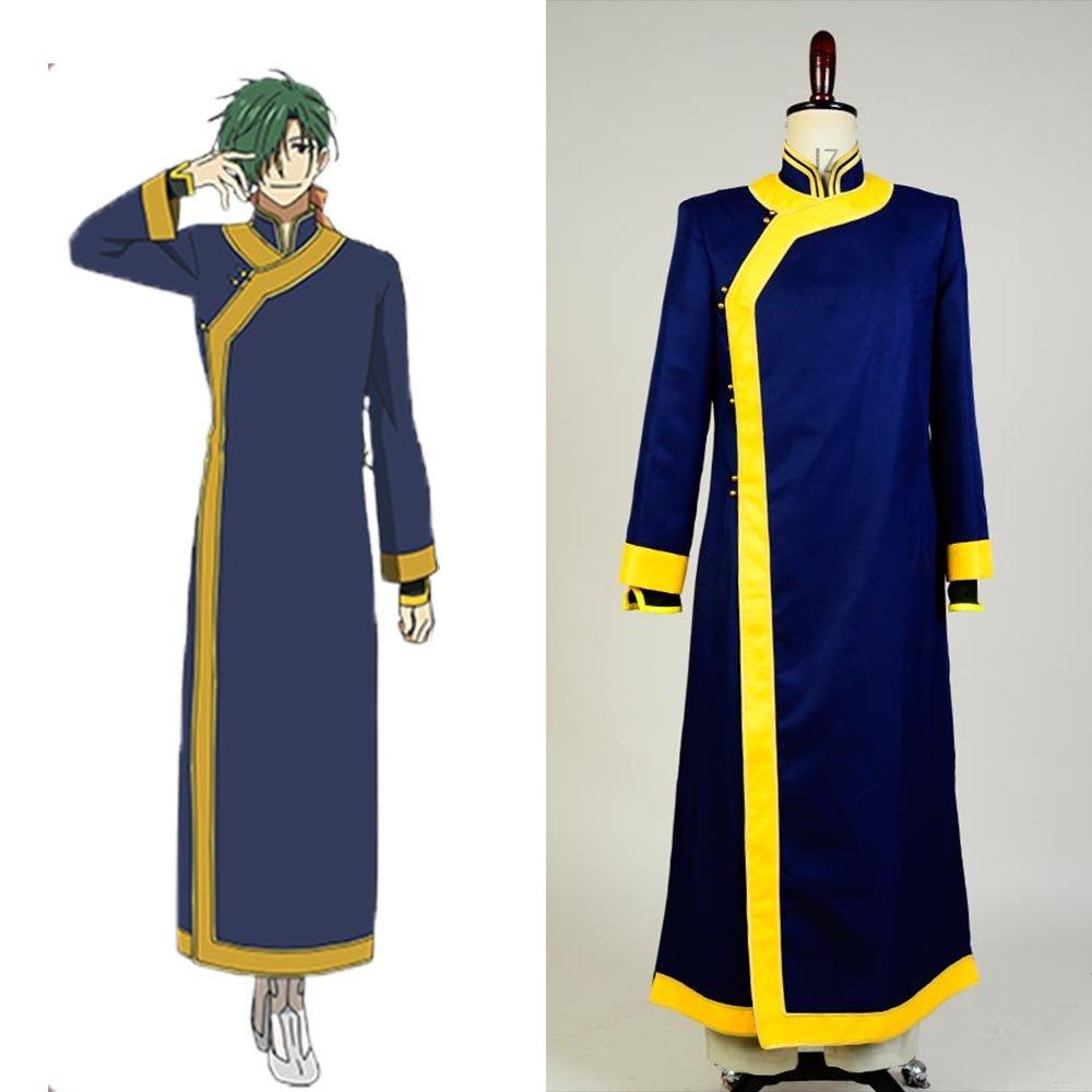 Yona of the Dawn Akatsuki no Yona Jae Ha Green Dragon Costume Cosplay for Carnival Party