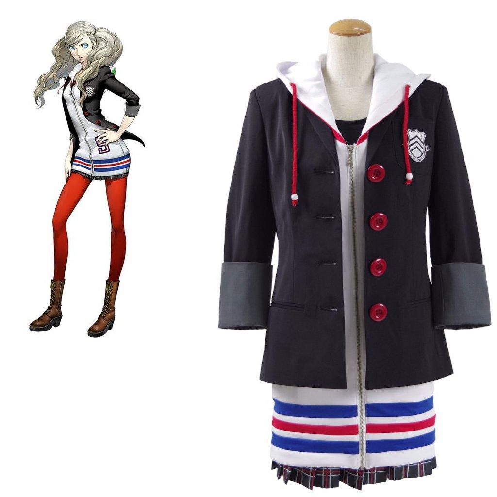 Persona5 Anne Takamaki Dress Cosplay Women's School Style Uniform Cosplay