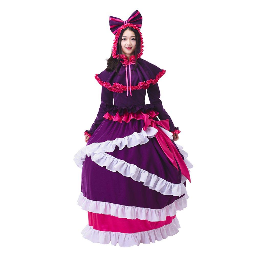 Overlord Shalltear Bloodfallen Custom Made Women's Ball Gown Dress Costume Cosplay
