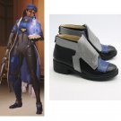 OverWatch Ana Shoes Cosplay Adult's Custom Made Shoes Boots Cosplay Accessories