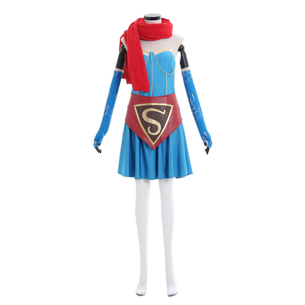 Super Girl Custom Made Dress Costume Cosplay Women&Girl's Dress Cosplay for Party