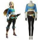 The Legend of Zelda:Breath of the Wild Custom Made Princess Zelda Costume Cosplay