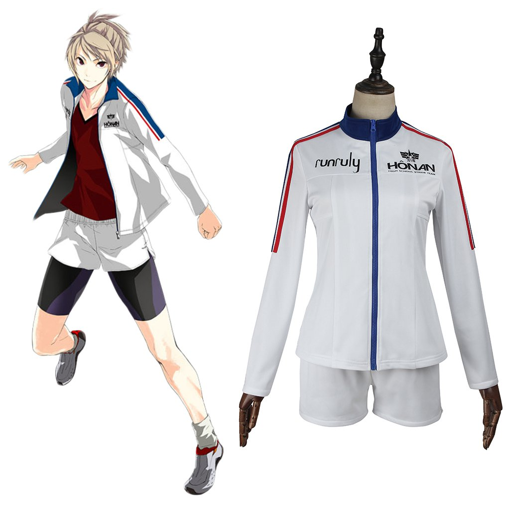 Prince of STRIDE Yagami Riku Custom Made Sport Outfit Costume Jacket Shorts Cosplay