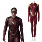 The Flash Season 3 Jesse Quick Outfit Costume Cosplay Adult's Halloween Costume Custom