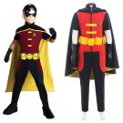 Young Justice Robin Costume Cosplay Adult's Halloween Carnival Costume Custom Made