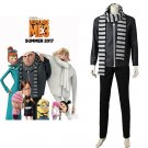 Despicable Me 3 Gru Outfit Costume Cosplay Men's Jacket Pants Scarf Cosplay