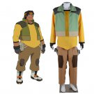 Anime Voltron Legendary Defender Hunk Cosplay Costume Outfit