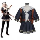 Sucker Punch Cosplay Emily Cosplay Costume Uniform Skirt Women's Costume Custom Made