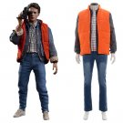 Men's Clothing Back To The Future Cosplay Costume Casual Fashion Tops Pants