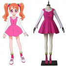 Japanese Anime KiraKira Pretty Cure A La Mode Cure Whip Cosplay Costume Dress Girls Party Costume