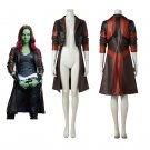 Guardians of The Galaxy 2 Gamora Cosplay Costume Women's Coat Halloween Outfit