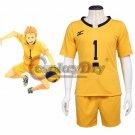 Anime Haikyuu Johzenji High Captain Yuuji Terushima Cosplay Costume School Volleyball Club Cosplay