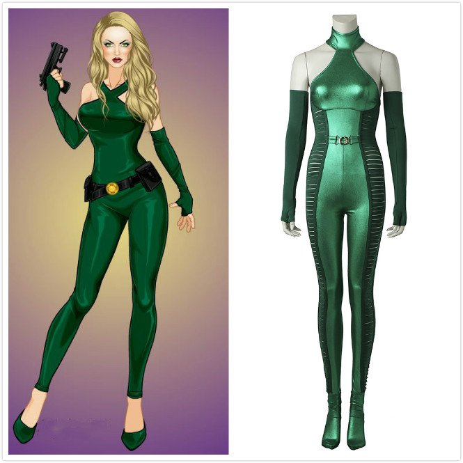 X,MEN Wolverine 2 Viper Cosplay Costume Adult Women Costumes for  Halloween/Party