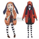 Anime Kakegurui Compulsive Gambler Runa Yomozuki Cosplay Costume For Party