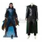 Cosplaydiy THOR 3 Ragnarok Loki Cosplay Costume Customized Men's Costume For Halloween/Party