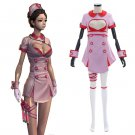 Game Blade and Soul Valentine Nurse Cosplay Costume Sexy Women's Cosplay Costume