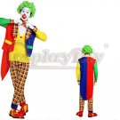 Clown Halloween Cosplay Costume Clown's Outfit For Halloween Party Cosplay
