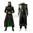 Movie Thor: The Dark World Loki Cosplay Costume Men's Costume For Halloween Party