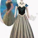 Frozen Anna Princess Dress Costume Women Party Dress Cosplay Costume