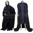 Harry Potter Severus Snape Black Costume Men's Halloween Party Cosplay Costume Outfit