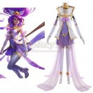 Custom Made League of Legends LOL Star Guardian Janna Cosplay Costume For Halloween Party