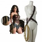 Wonder Woman Diana Prince Costume Props Turth Rope String With Belt Halloween Cosplay Accessories