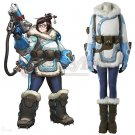 Custom Made  OverWatch Mei Costume OW Women Halloween Party Cosplay Costume