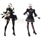 Nier: Automata 2B Black Dress Cosplay Costume Nier Dress Cosplay Costume